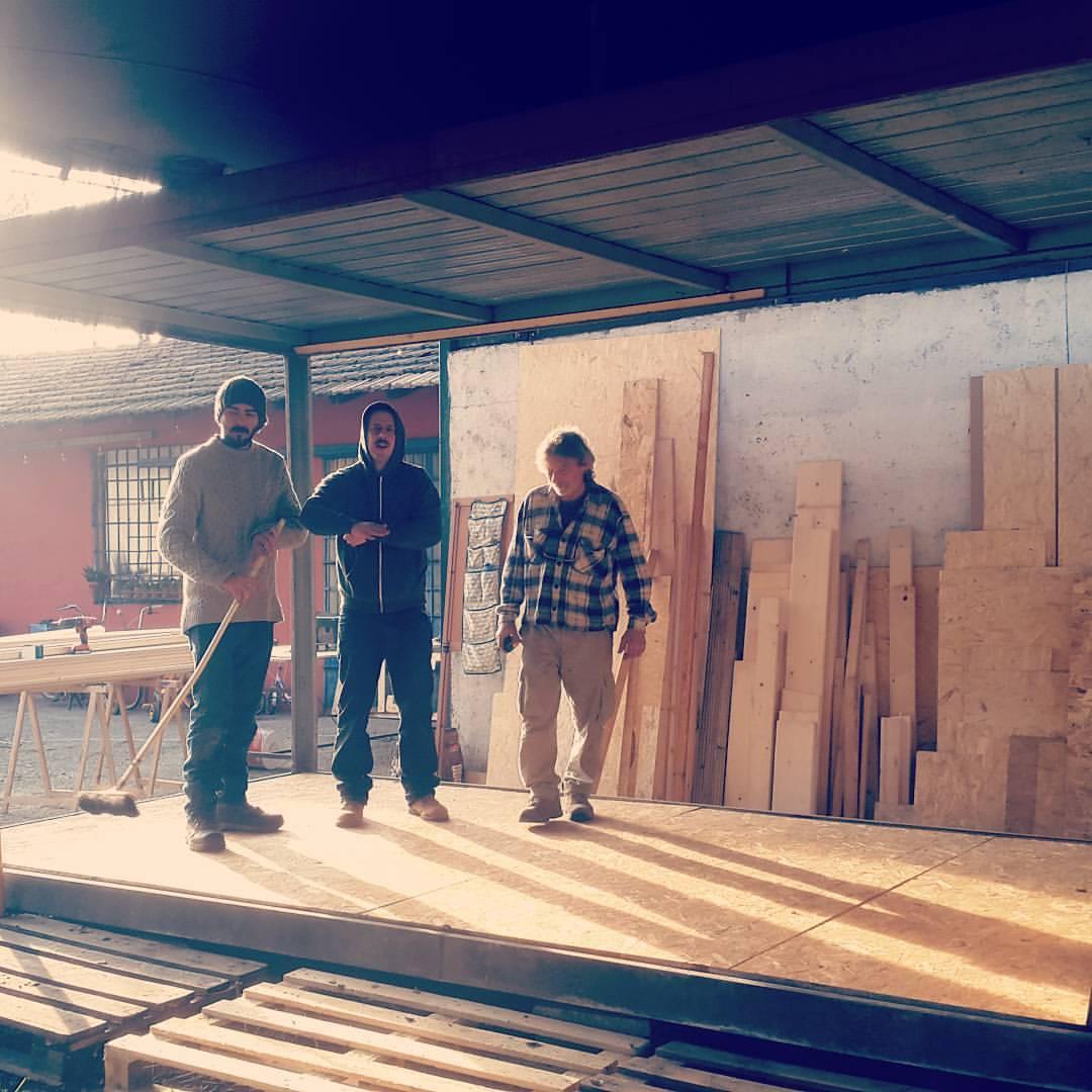 Team costruzione UBU