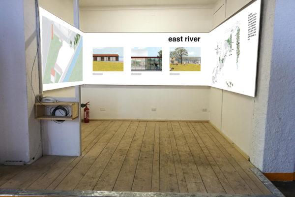 spazio espositivo in showroom