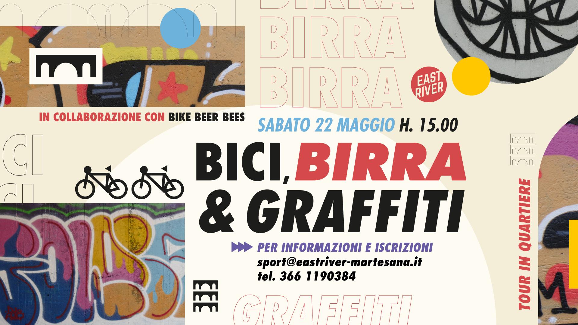 Bici birra e graffiti
