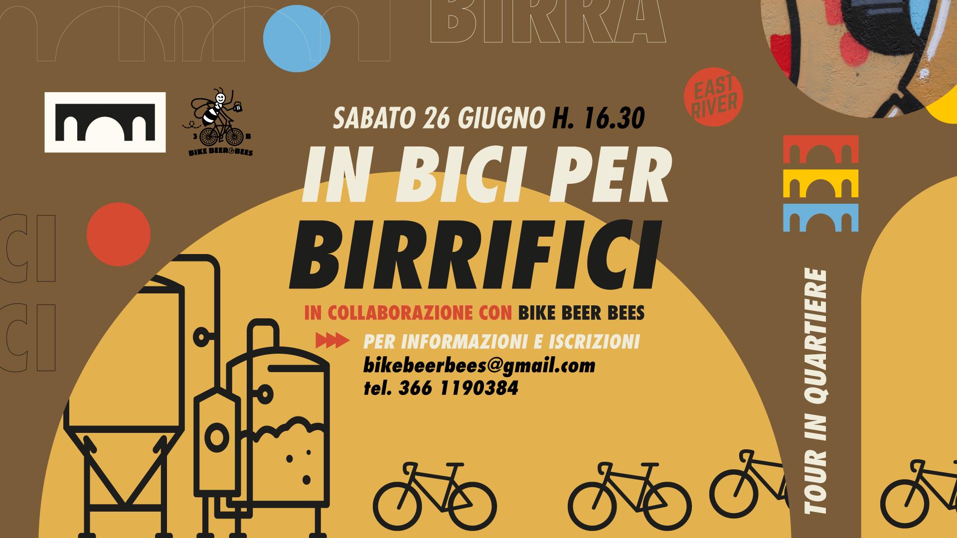 In bici per birrifici